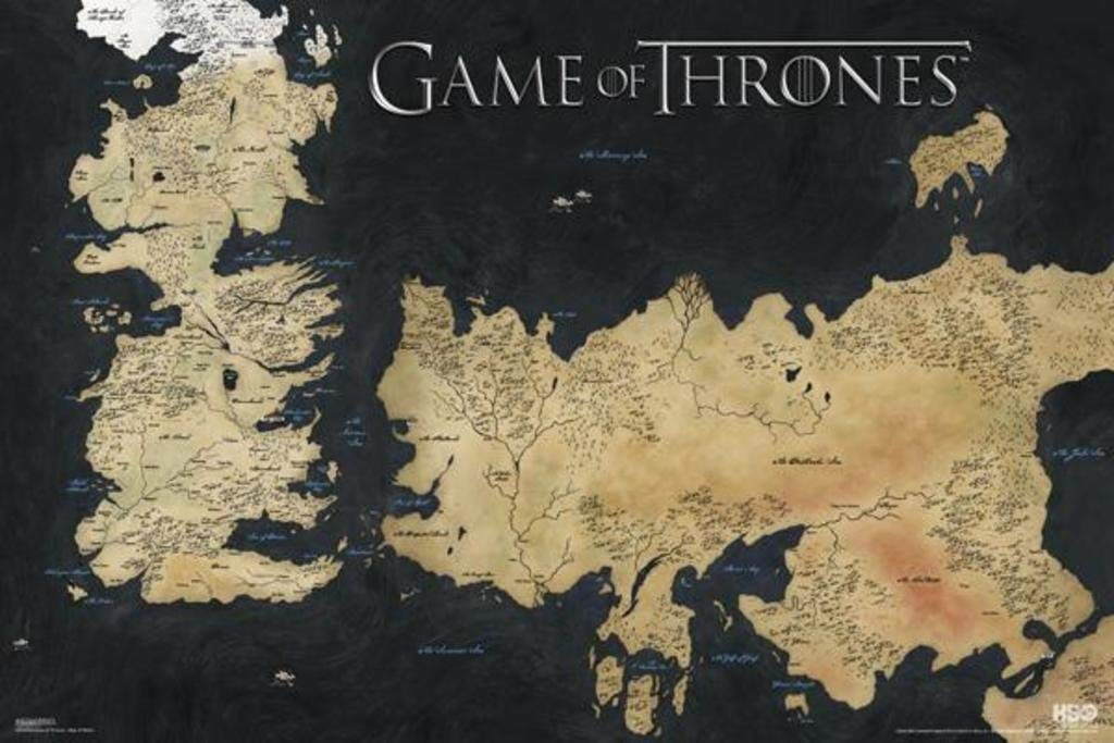 Game of Thrones Posters - The Seven Kingdoms of Westeros Seven Kingdoms Of Westeros Map on seven castles of westeros, seven kingdoms game thrones map, largest castles westeros, seven regions of westeros, seven kingdoms of essos, seven kingdoms game pc, the north westeros, oldtown westeros, seven kingdoms westeros map,