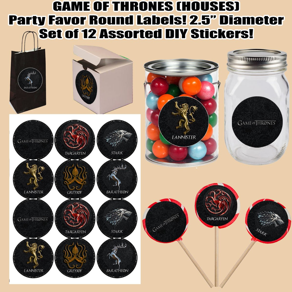 Game Of Thrones Party Ideas The Seven Kingdoms Of Westeros