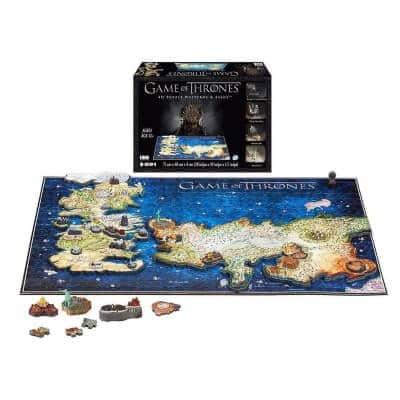 4D Game of Thrones Essos Puzzle