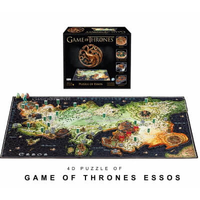 4D Game of Thrones Essos Time Puzzle