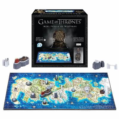 4D Game of Thrones Westeros Time mini Puzzle
