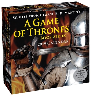 A Game of Thrones Quotes Calendar