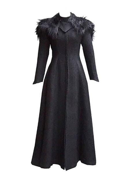 Cersei Black Dress Costume