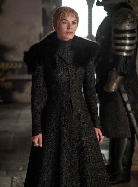 Cersei Black Dress