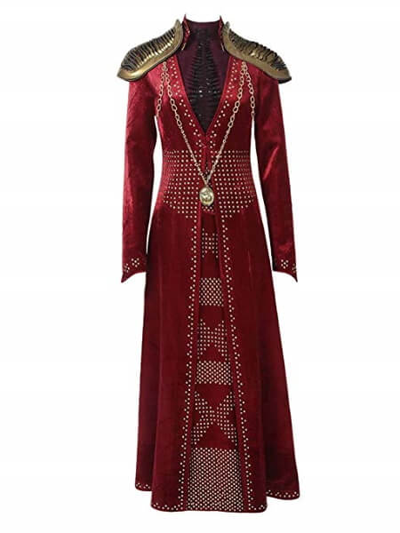 Cersei Lannister Red Dress Costume