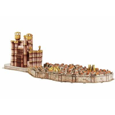 Cityscape Game of Thrones 3D Kings Landing Puzzle