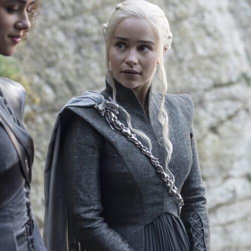 Daenerys Targayen Suit with cloak