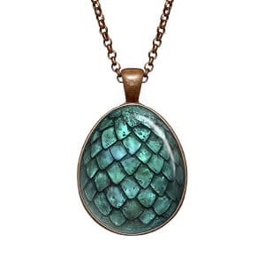 Daenerys Targayen dragon egg pendant