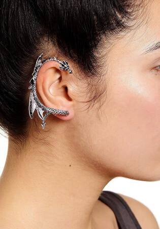 Dragon Ear Cuff Wrap Earring