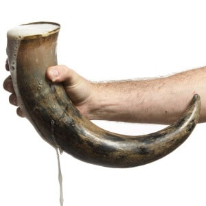 Extra Large Drinking Horn