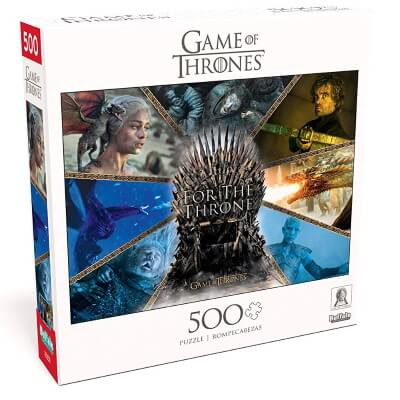 For The Throne - 500 Piece Jigsaw Puzzle