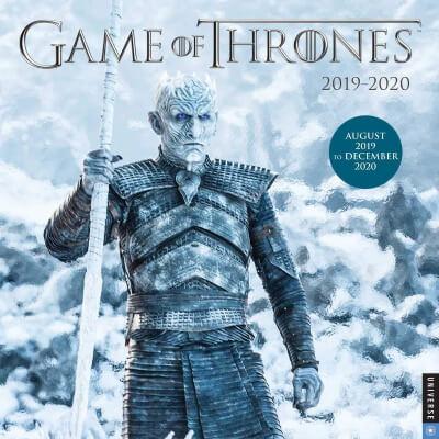 Game of Thrones Calendar 2019 -2020