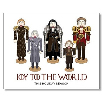 Game of Thrones Christmas card 2