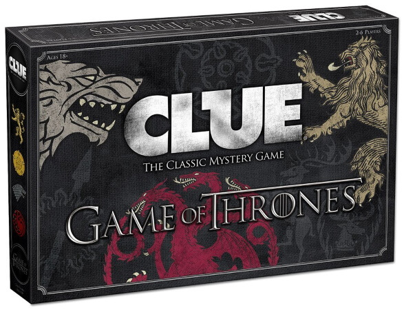 Game of Thrones Clue Game