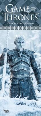 Game of Thrones Slim Calendar 2019