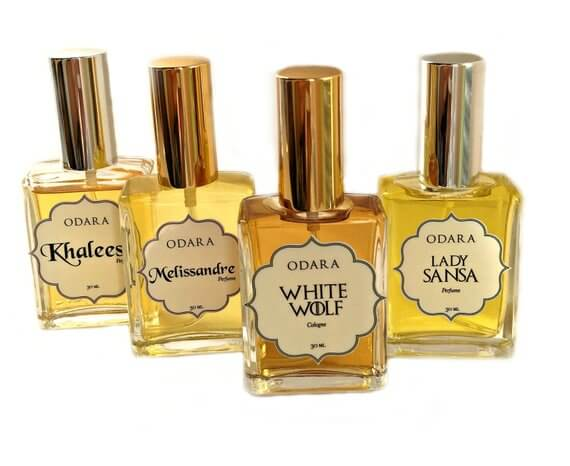 Game of Thrones inspired fragrances