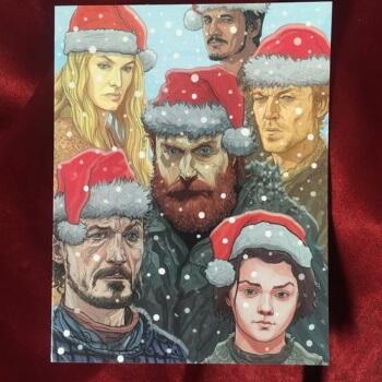 GoT Christmas card