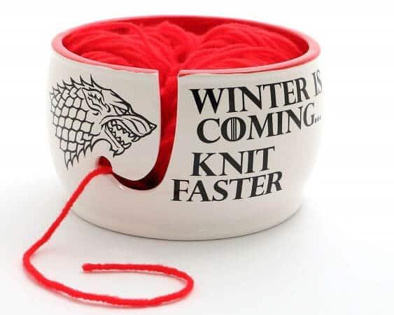 GoT Knitting Yarn Bowl