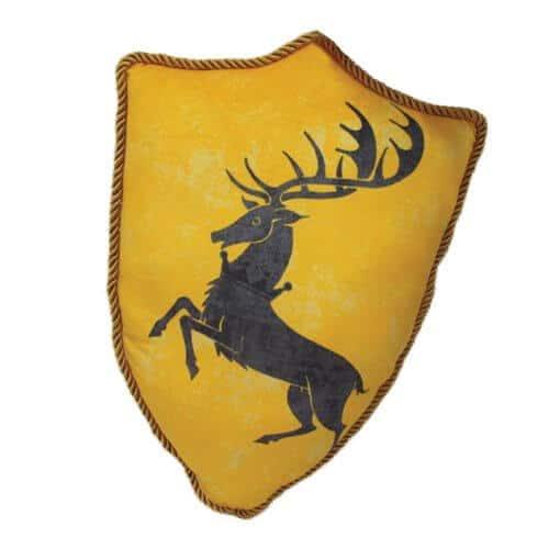 House Baratheon Sigil Throw Pillow