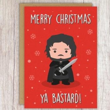 Jon Snow Christmas card 2