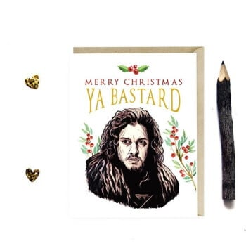 Jon Snow Christmas card