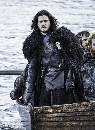 Jon Snow cape costume 2