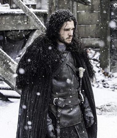 Jon Snow cape costume