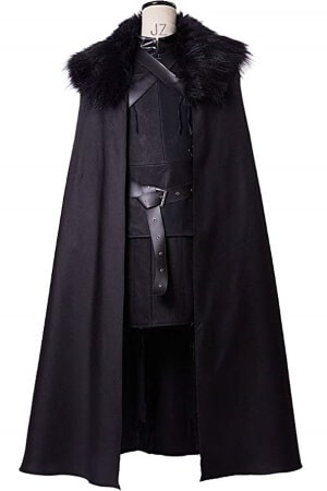 Jon Snow cape outfit costume a1