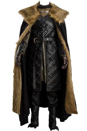 Jon Snow full fur costume