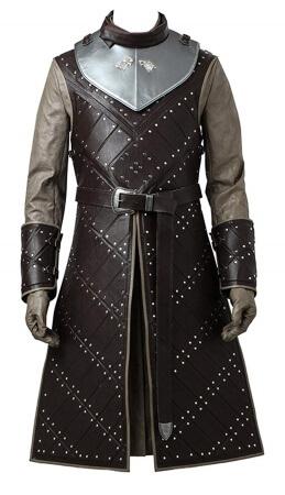 Jon Snow full leather suit