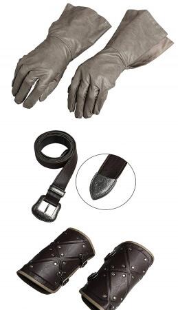 Jon Snow gloves and cuffs costume