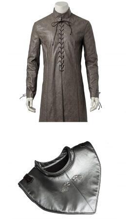 Jon Snow long vest costume