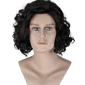 Jon Snow wig costume
