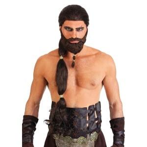 Khal Drogo Wig and Beard