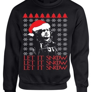 Let is snow Christmas sweater