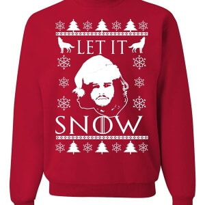 Let is snow ugly christmas sweater
