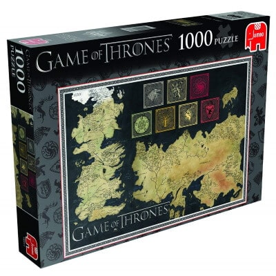 Map of The Westeros Jigsaw Puzzle