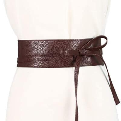 brown waist band