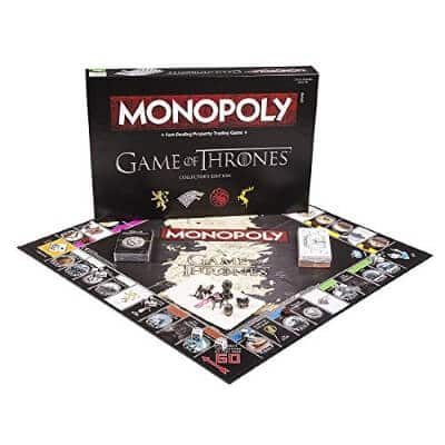 Monopoly Game of Thrones Collectors Edition map