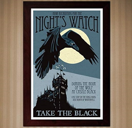 Night Watch Recruitment Poster