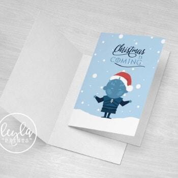 Night king Christmas card