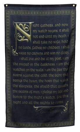 Nights Watch Oath Wall Banner
