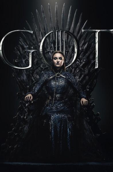 Sansa Sits on the Iron Throne