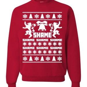 Shame ugly Christmas Sweater
