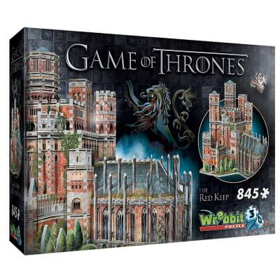 The Red Keep 3D Jigsaw Puzzle