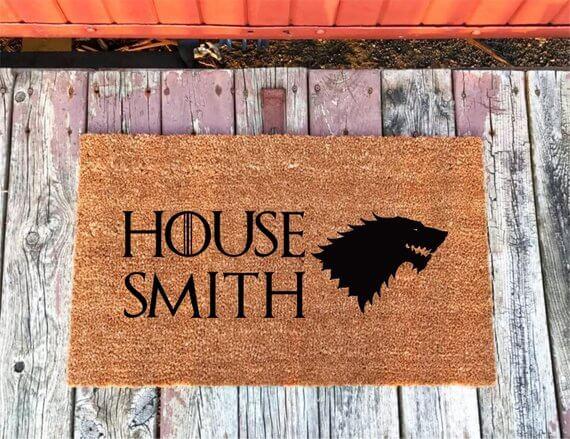 game of thrones Personalized Doormats