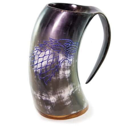Authentic Beer Horn Tankard