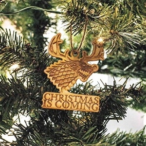 Christmas is Coming Ornament