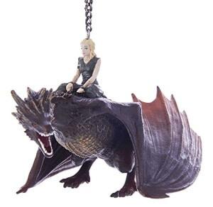 Daenerys with Dragon Ornament