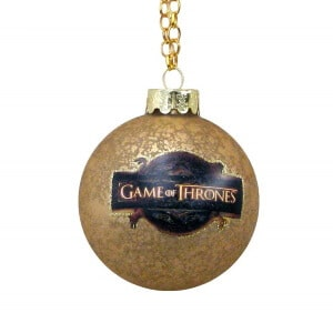 Game of Thrones Glass Ball Ornament